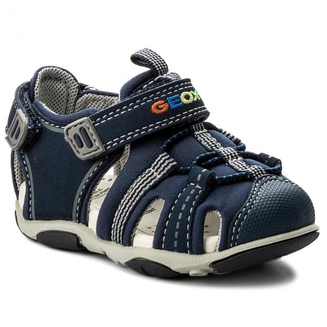 05a2fa560d60d6 Sandali GEOX - B S.Agasim B. D B721AD 01550 C0661 M Navy/Grey - Sandali -  Ciabatte e sandali - Bambino - Bambino - escarpe.it