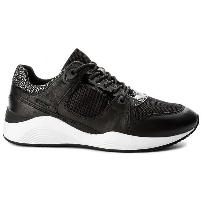 Geox Omaya A 08588 Black Sneakers D D540sa C9999 CxrdBoe