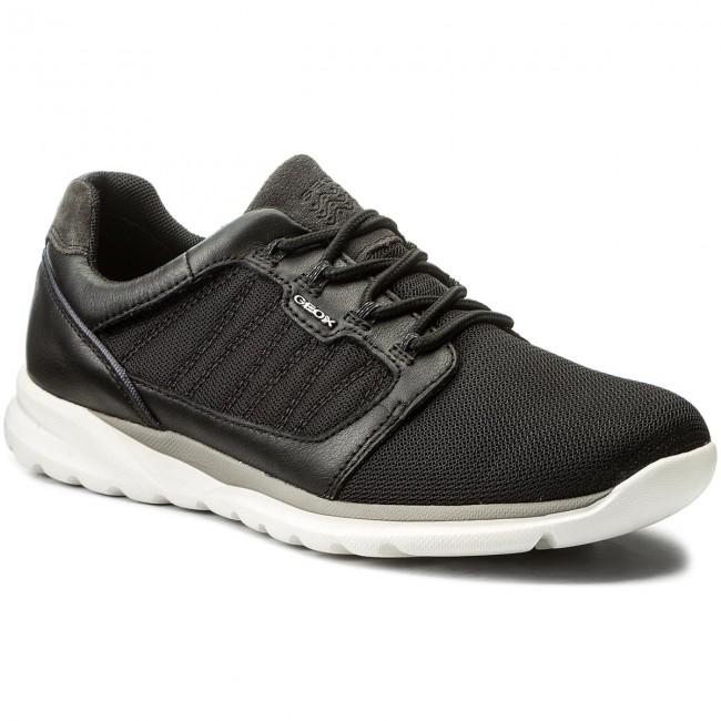 A Sneakers U720ha Geox U 01485 Damian C9999 Black LVSpMUzjqG