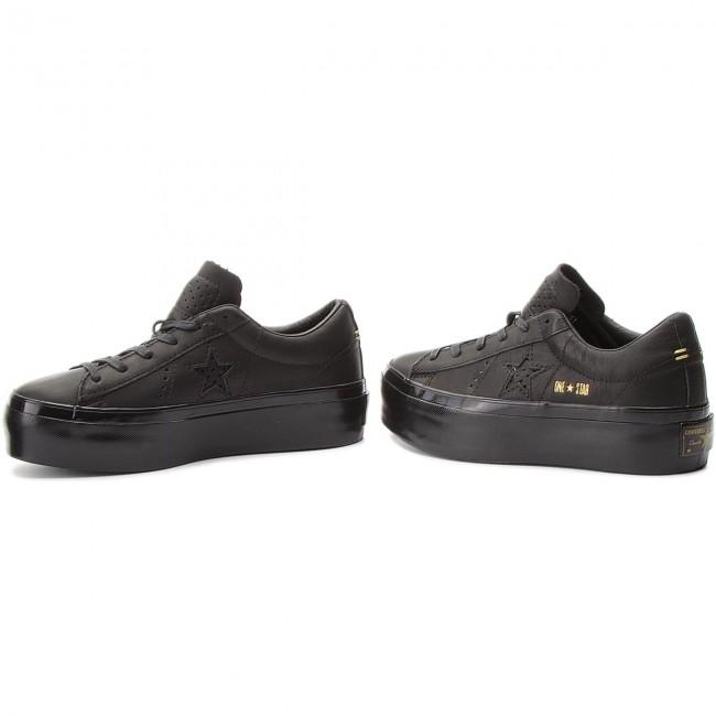 scarpe da ginnastica CONVERSE CONVERSE CONVERSE - One Star Platform Ox 559898C nero nero nero - scarpe da ginnastica - Scarpe basse - Donna | Consegna Immediata  | Uomini/Donne Scarpa  810fcf