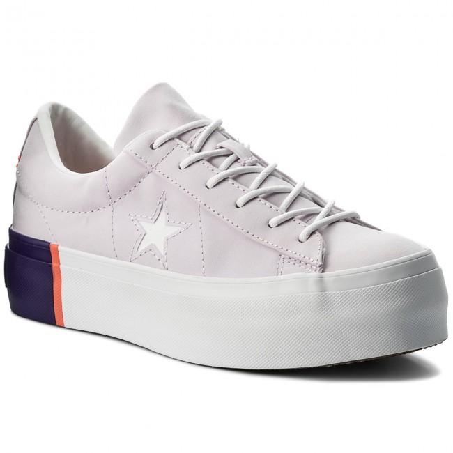 converse donna platform one star