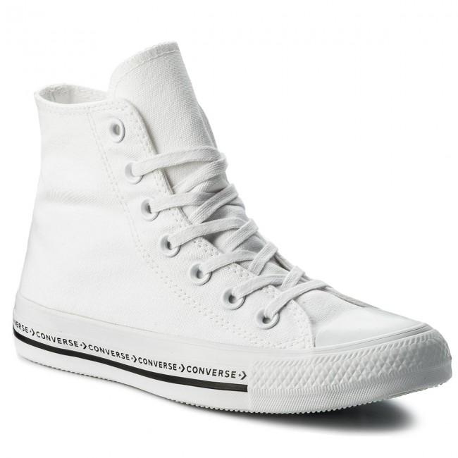 Scarpe da ginnastica CONVERSE - Ctas Hi 159586C bianca bianca nero - Scarpe da ginnastica - Scarpe basse - Donna | Portare-resistendo  | Gentiluomo/Signora Scarpa