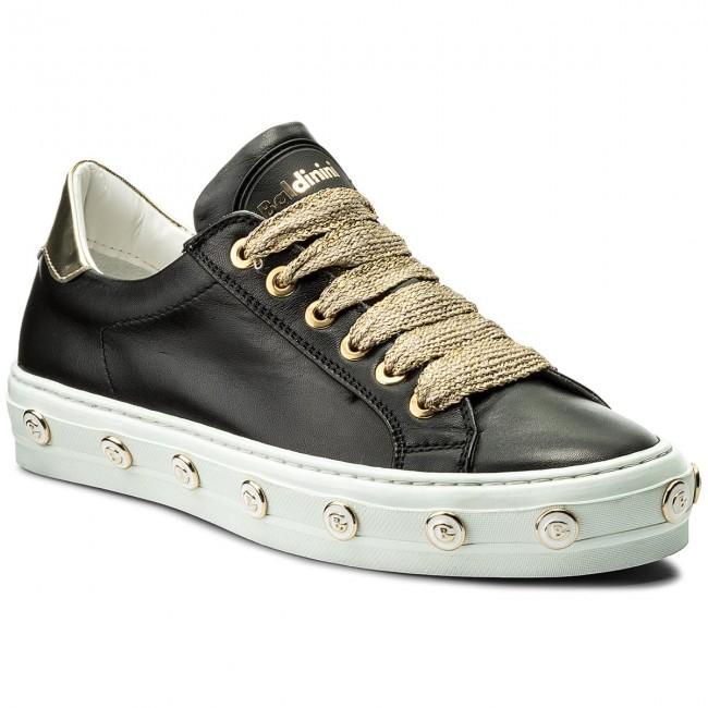 scarpe da ginnastica BALDININI - 898000XDOLA0085 Dome Nero Laminato oro - scarpe da ginnastica - Scarpe basse - Donna | Prima qualità  | Sig/Sig Ra Scarpa