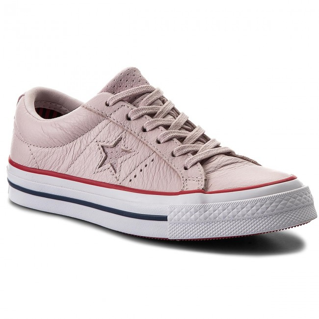 Converse Chucks 160623c Rosa One Star OX Barely ROSE Gym Red White tg. 38