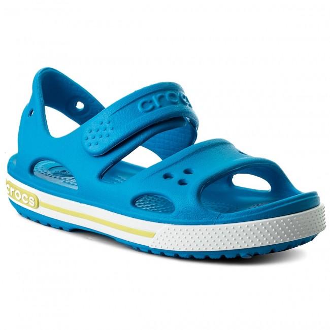 Sandali CROCS - Crocband II Sandal Ps 14854 Ocean/Smoke Tienda De Liquidación Códigos De Descuento Realmente Barato HC3ON3