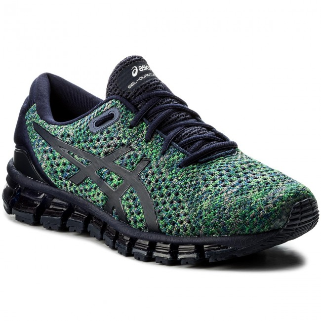 Scarpe ASICS - Gel-Quantum 360 Knit 2 T840N Peacoat/Green/White 5884
