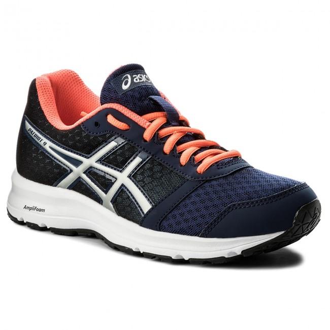 Scarpe ASICS - Patriot 9 T873N Indigo blu argento Flash Coral 4993 - Scarpe da allenamento - Running - Scarpe sportive - Donna | riparazione  | Uomo/Donna Scarpa