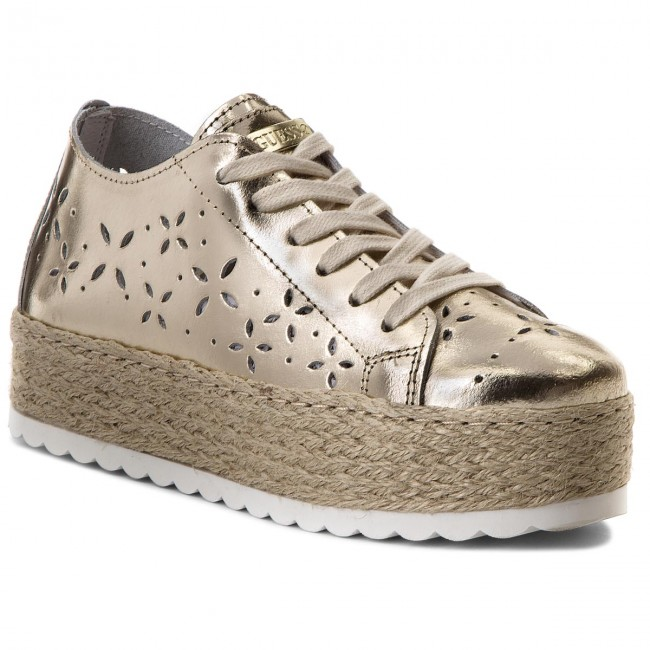 Alta qualit GUESS SNEAKERS FLRLY2 LEA12 PLATI