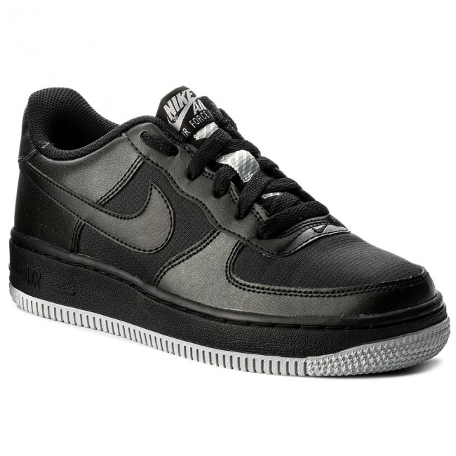 the latest 412ea 296aa Scarpe NIKE - Air Force 1 LV8 (GS) 820438 016 Black/Black/Wolf Grey ...