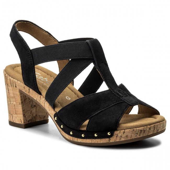 Sandali GABOR - 82.773.26 Pazifik (Kork Niete) - Sandali da giorno - Sandali - Ciabatte e sandali - Donna | Lascia che i nostri beni escano nel mondo  | Sig/Sig Ra Scarpa