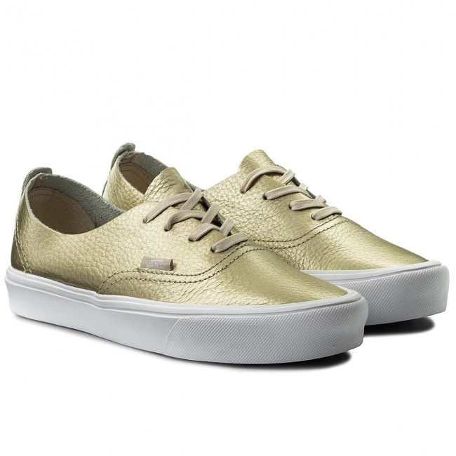 Scarpe sportive VANS Authentic Decon VN0A38ERJYQ (Leather) Gold