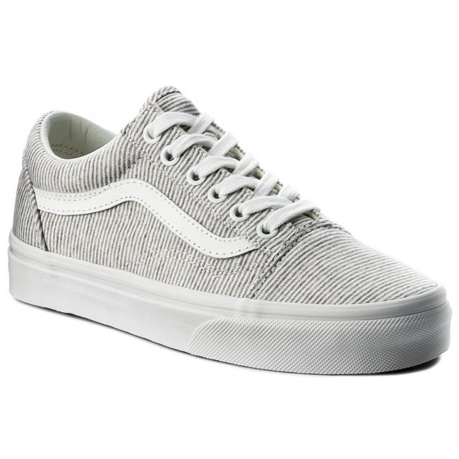Scarpe sportive VANS - Old Skool VN0A38G1I1F (Jersey) Gray True White ee2d3027024