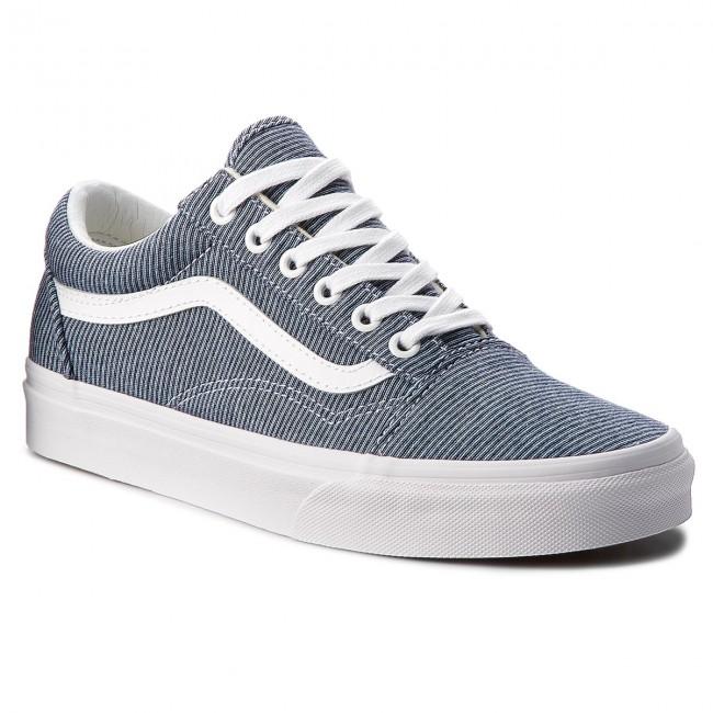 6e0e4f00e64cc Scarpe sportive VANS - Old Skool VN0A38G1Q8U (Jersey) Blue True White