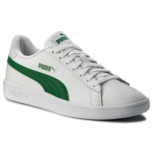 50608304bcc8b Sneakers PUMA - Smash Vl L 365215 03 Puma White Amazon Green ...