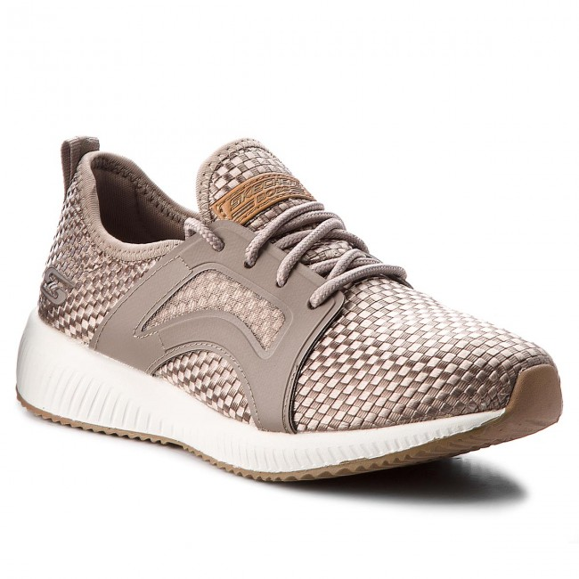 best service 1ef23 7bc1d Scarpe Skechers Insta 31365tpe Bobs Fitness Sport Cool Taupe rrCqT