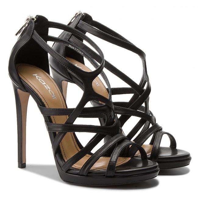 00 Black Sandali Vienna Eleganti 01 32769 Kazar qCnZxnwaI