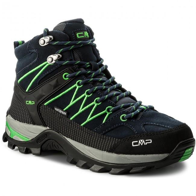 Scarpe da trekking CMP - Rigel Mid Trekking Shoes Wp 3Q12947 B.Blue Gecko 79b1aa79272