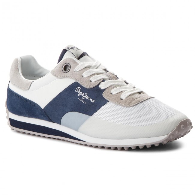 size 40 535dc af029 Sneakers PEPE JEANS - Garret Sailor PMS30405 White 800