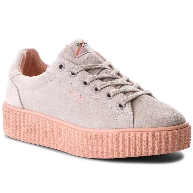 Pepe Whitewash Sneakers Jeans Seasons Pls30685 811 Frida Om8n0wyvN