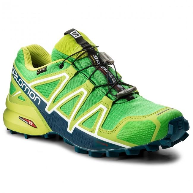 Scarpe SALOMON - Speedcross 4 Gtx GORE-TEX 398430 27 G0 Classic Green Lime 7180eabc0f5