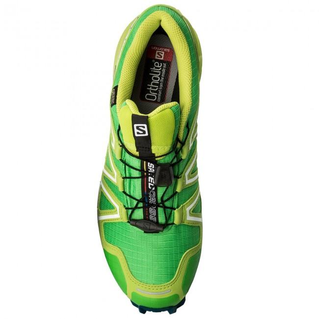 Scarpe SALOMON - Speedcross 4 Gtx GORE-TEX 398430 27 G0 Classic Green Lime  Green Poseidon - Trail running - Running - Scarpe sportive - Uomo -  www.escarpe. ... 1de39f9d164
