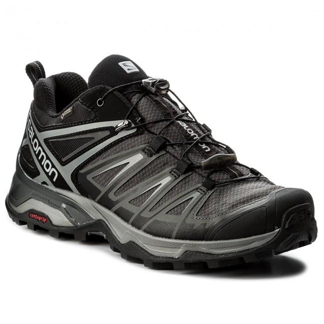 dc02f49b2e287 Scarpe da trekking SALOMON - X Ultra 3 Gtx GORE-TEX 398672 29 W0 Black