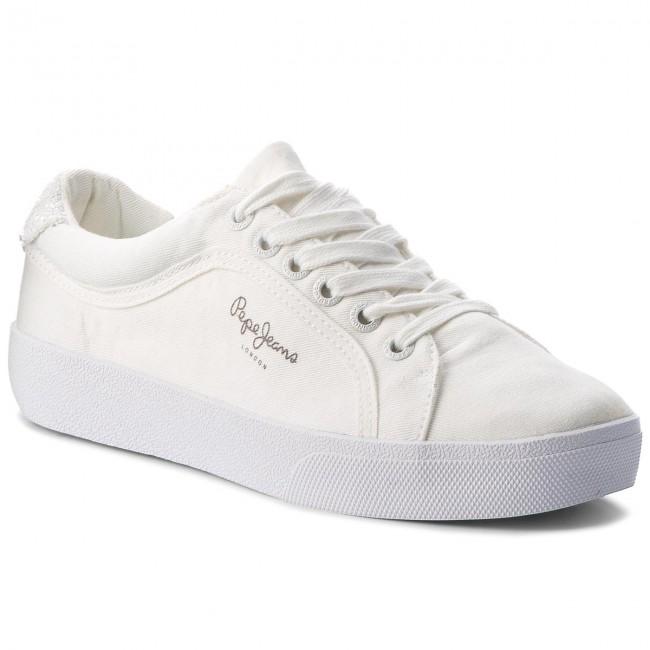 Scarpe Sportive Jeans 800 Rene Pepe White Skate Pls30634 F4qFBS