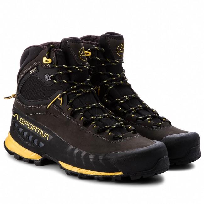 Scarpe da trekking LA SPORTIVA - Tx5 Gtx GORE-TEX 27I900100 Carbon Yellow -  Scarpe da trekking e scarponcini - Scarpe sportive - Uomo - www.escarpe.it 37ed7f45a3c
