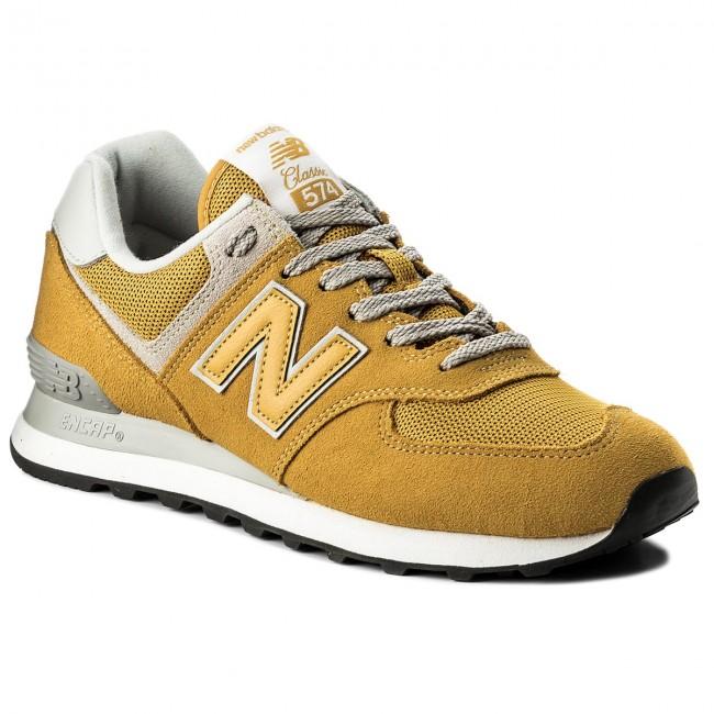 45c96a7c84 Sneakers NEW BALANCE - ML574EYW Giallo - Sneakers - Scarpe basse ...
