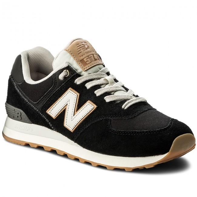 new balance sneakers basse uomo nere