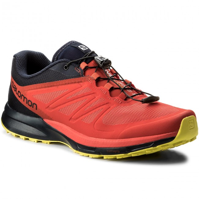 Scarpe SALOMON - Sense Pro 2 402379 30 W0 Fiery Red Night Sky Sulphur 3ae645699a7