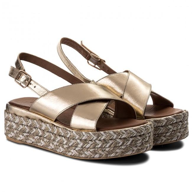 Espadrillas INUOVO - 8900 oro - Espadrillas - Ciabatte Ciabatte Ciabatte e sandali - Donna | Primo gruppo di clienti  | Uomo/Donne Scarpa  fdb691