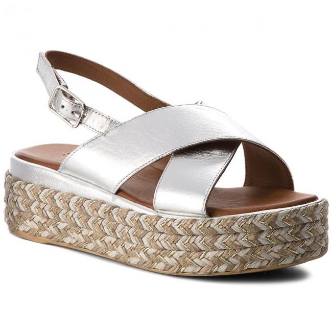 Espadrillas INUOVO - 8900 argento - Espadrillas - Ciabatte e sandali - Donna   Caratteristico    Uomini/Donna Scarpa