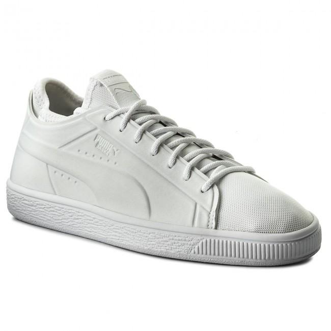 Sneakers 02 365370 Classic Basket Sock WhtPuma PUMA Wht Lo Puma rXSwr