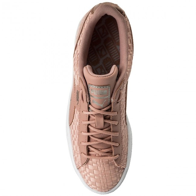 Sneakers PUMA Basket Satin Ep 365915 01 Peach BeigePuma White