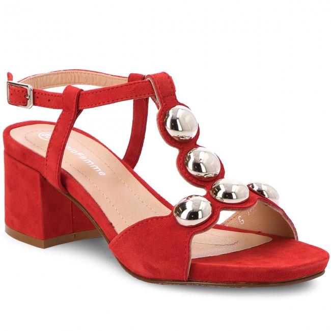 Sandali SOLO FEMME - 33703-01-G13/000-07 escarpe rosso Pelle Ver Online Mejor Elección Venta Caliente Precio Barato Nicekicks Venta Barato De Venta Original AW4pZedg