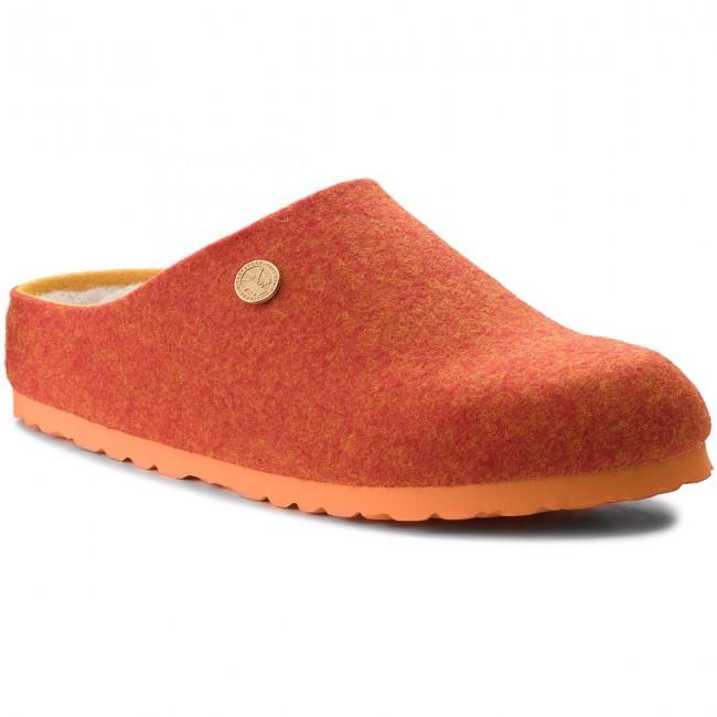Pantofole BIRKENSTOCK - Kaprun Rivet 1012426 Doubleface Orange ... 93deaa2bb70