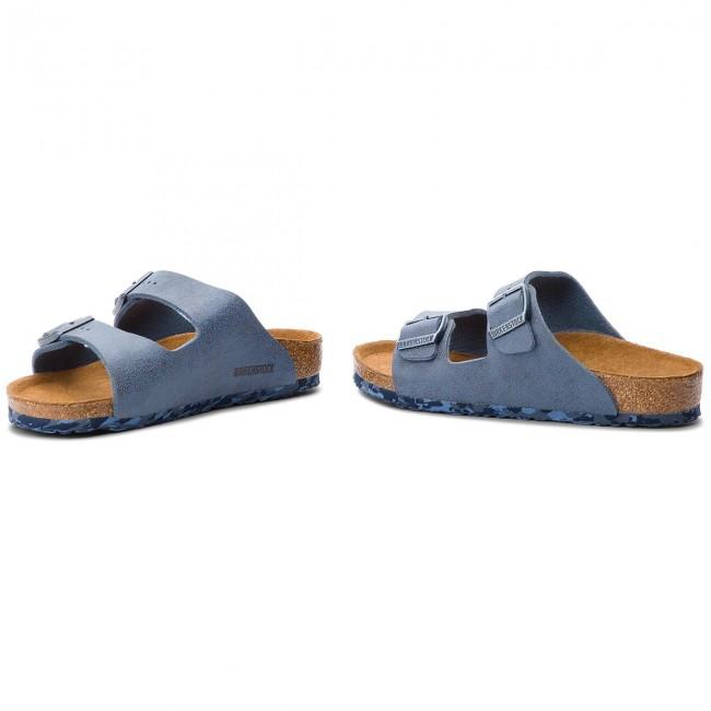 Ciabatte BIRKENSTOCK - Arizona Kids 1008323 Sandwashed Blue ... 1d93c89dd93