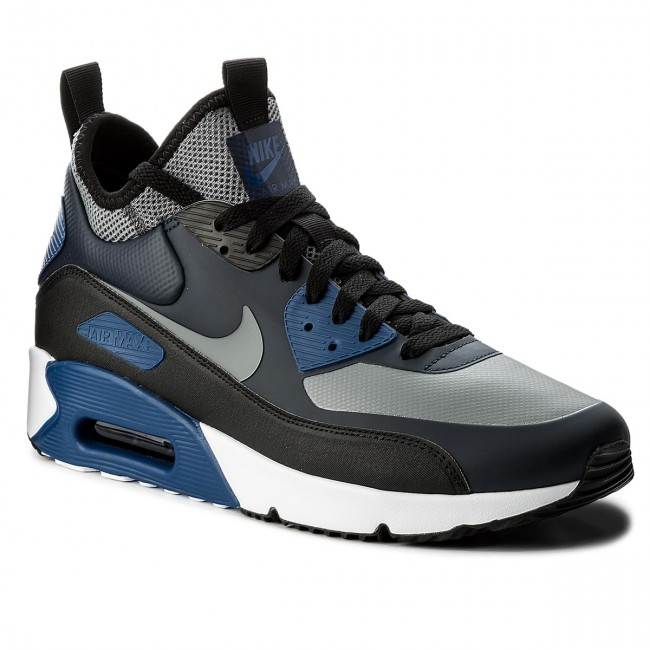 online store 7e812 83e05 Scarpe NIKE - Air Max 90 Ultra Mid Winter 924458 401 Obsidian Cool Grey