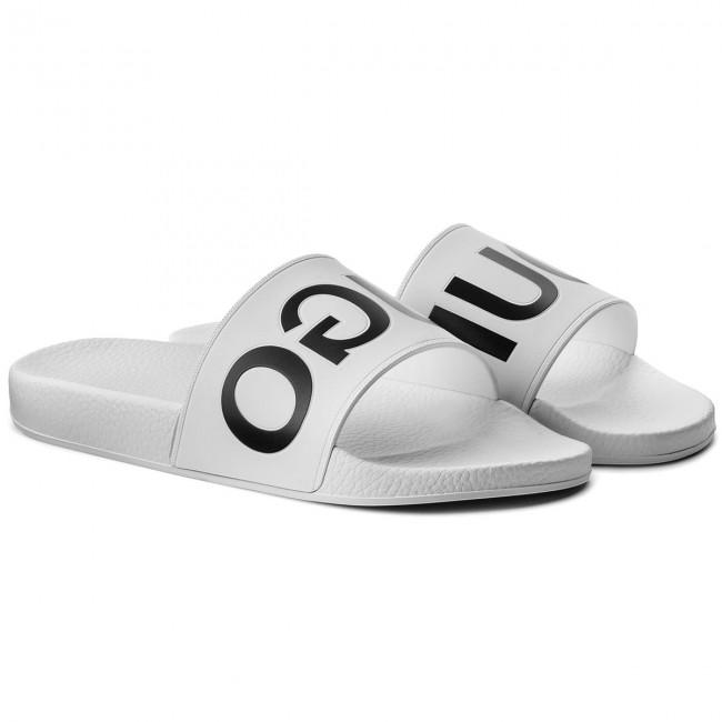 Ciabatte BOSS - Timeout 50381411 10204447 01 White 100 - Ciabatte -  Ciabatte e sandali - Uomo - www.escarpe.it 4fee46010634