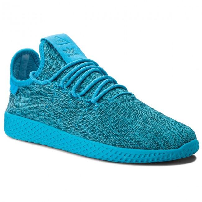 Scarpe adidas - Pw Tennis Hu J B41928 Boaqua/Boaqua/Cwhite