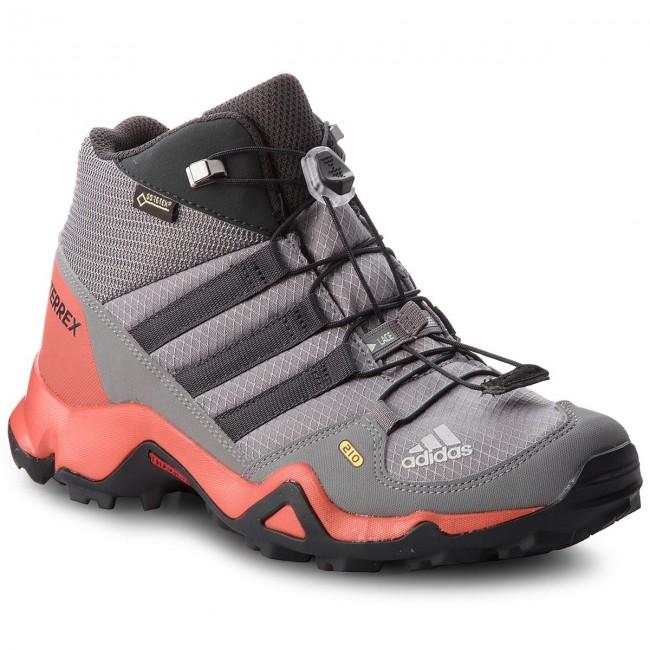 Scarpe adidas - Terrex Mid Gtx K GORE-TEX CM7711 Grethr/Grethr/Carbon