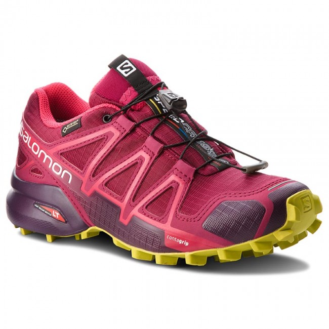 Scarpe SALOMON - Speedcross 4 Gtx GORE-TEX 404666 22 G0 Beet Red Poten 581b75c05a4
