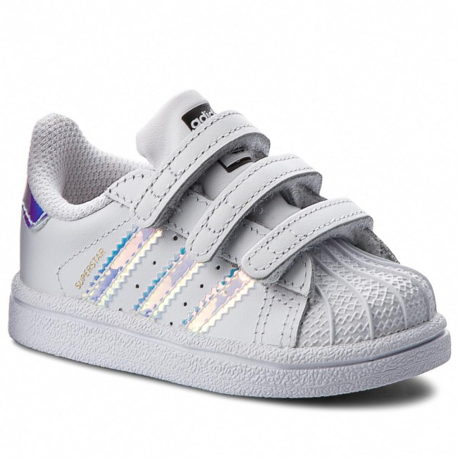 Scarpe adidas - Superstar Cf I AQ6280 Ftwwht Ftwwht Metsil - Con ... 23ce5345958