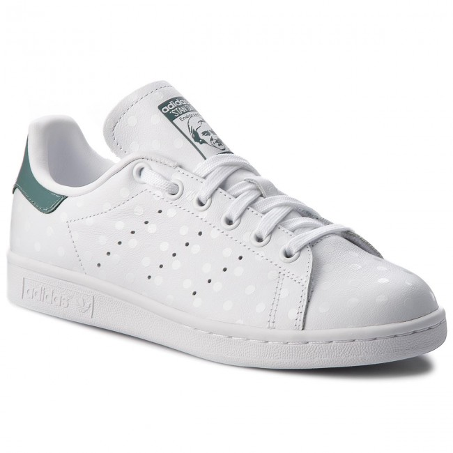 Scarpe adidas - Stan Smith W B41624 Ftwwht/Ftwwht/Rawgrn