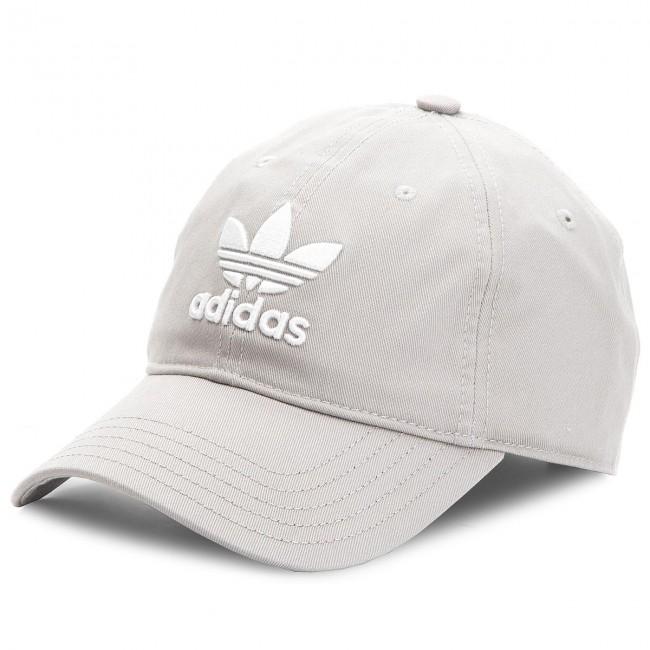 Cappello con visiera adidas - Trefoil Cap BK7282 Mgsogr White ... fe7f0fb06612