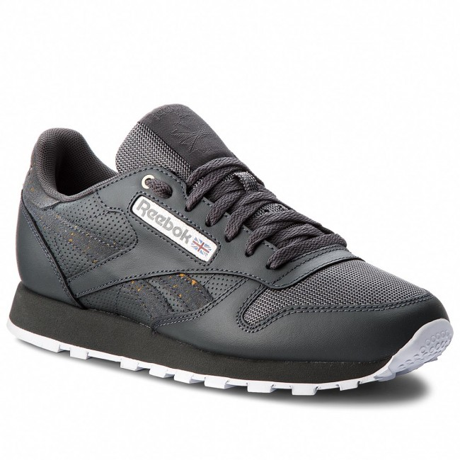 Cn4890 Stealth banana Cl Leather Reebok Scarpe Mu white qwXgZOI