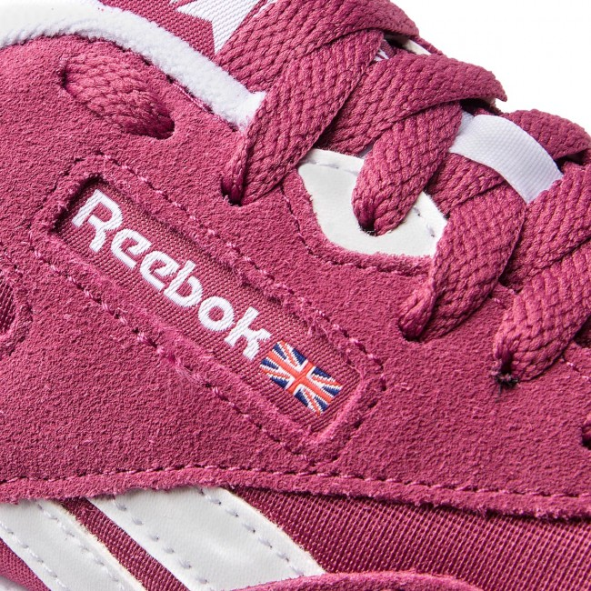 Scarpe Reebok - Cl Nylon CN4018 Twisted Berry bianca bianca bianca Chalk  - scarpe da ginnastica - Scarpe basse - Donna | Molte varietà  | Uomini/Donna Scarpa  3bc60c