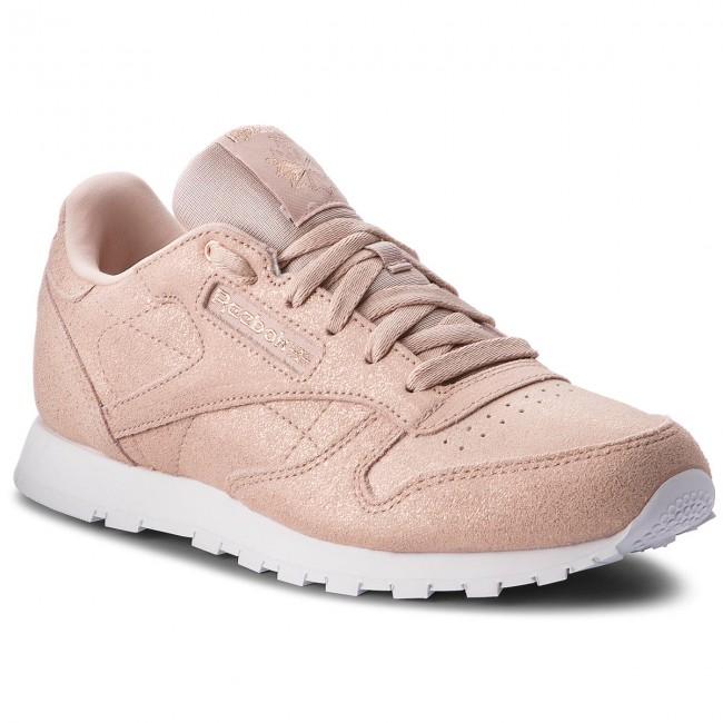 Scarpe Reebok - Classic Leather CN5586 rosa oro Beige Whit - scarpe da ginnastica - Scarpe basse - Donna   Vogue    Sig/Sig Ra Scarpa