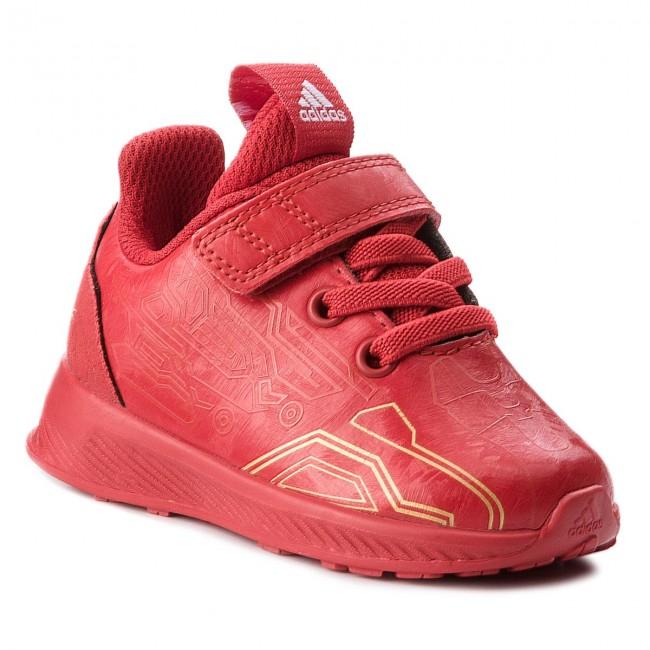 73e459a688691 Scarpe adidas - RapidaRun Avengers I AH2686 Scarle Scarle Magold ...